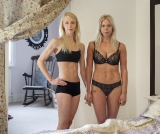 Twins, 20 years old– Nicola, recovering from anorexia and Rachel, body enhancement